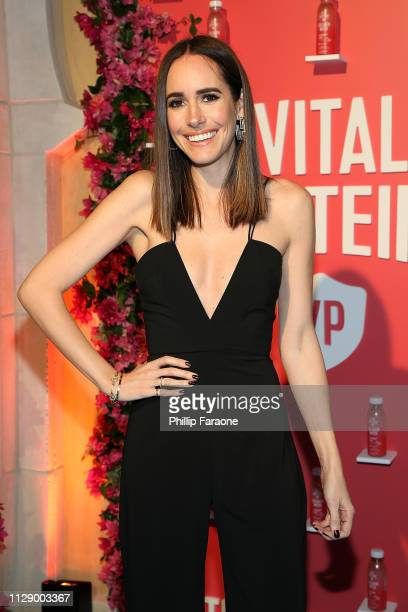 Louise Roe attends the Vital Proteins celebration for the launch of Collagen Water on March 6 2019 in Irvine California