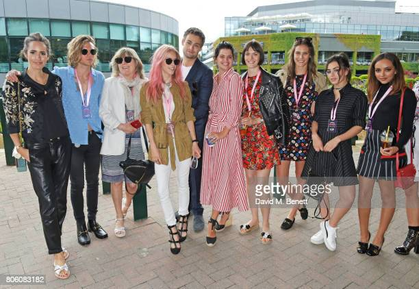 Louise Roe Dougie Poynter Catherine Guinness Mary Charteris Douglas Booth Pixie Geldof Sam Rollinson Charlotte Wiggins Charli XCX and Jade Thirlwall...