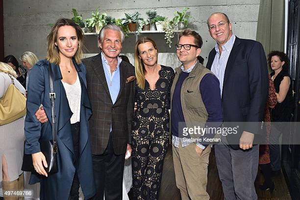 0354866d31 Louise Roe George Hamilton India Hicks Nathan Turner and Eric Hughes attend  Louise Roe And George