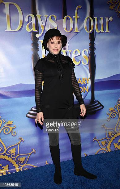 Louise Sorel attends Days Of Our Lives 45th anniversary party at House of Blues Sunset Strip on November 6 2010 in West Hollywood California