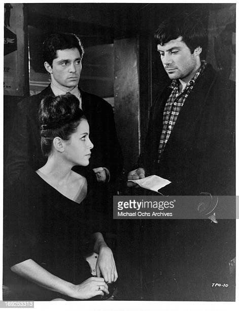 Louise Sorel Clifford David and Oliver Reed in a scene from the film 'The Party's Over' 1965 Photo by Allied Artists/Getty Images