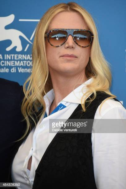 Louise Stratten attends the 'She's Funny That Way' Photocall during the 71st Venice Film Festival on August 29 2014 in Venice Italy