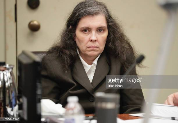 Louise Turpin during her preliminary hearing in a Riverside courtroom Wednesday June 20 2018 Turpin along with her husband David are accused of...