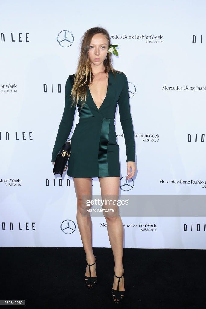 Mercedes-Benz Presents Dion Lee - Arrivals - Mercedes-Benz Fashion Week Australia 2017