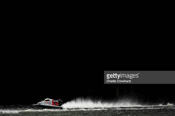 Louise Vella of Australia and team Mad Bro Baba Racing races in the F4S race on June 17 2018 in London England