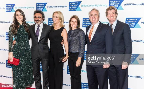 Louise Vongerichten CEO of Chobani Hamdi Ulukaya human rights activist Kerry Kennedy Amy Petitgout businessman politician and Chair of Joseph P...
