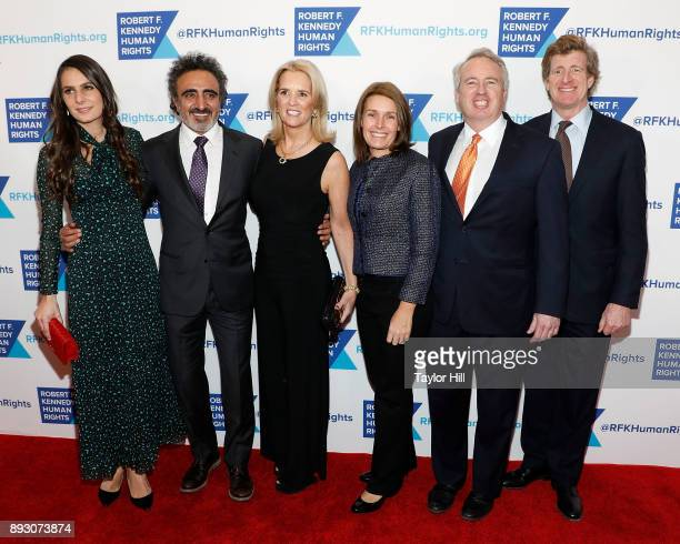 Louise Vongerichten Hamdi Ulukaya Kerry Kennedy Amy Petitgout Chris Kennedy and Patrick Kennedy attend Robert F Kennedy Human Rights Hosts Annual...