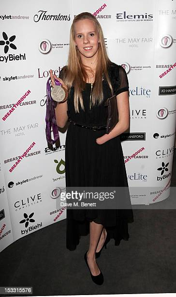 Louise Watkin arrives at The Inspiration Awards For Women 2012 at Cadogan Hall on October 3 2012 in London England