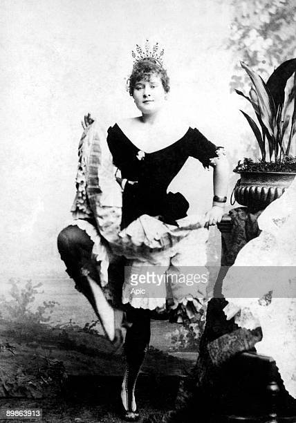 Louise Weber said La Goulue dancer of French cancan in Paris and modele of ToulouseLautrec