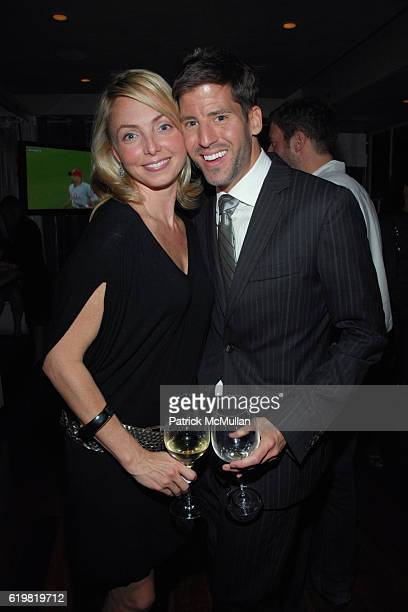 Louisette Geiss and Trent Huffman attend THE WALL STREET JOURNAL CELEBRATES WSJ.COM at The Huntley Hotel on October 15, 2008 in Santa Monica, CA.