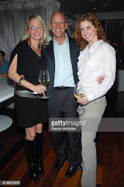Louisette Geiss, Don Reis and Helena Beavens attend THE WALL STREET JOURNAL CELEBRATES WSJ.COM at The Huntley Hotel on October 15, 2008 in Santa...