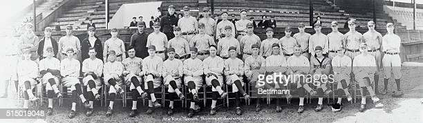 Here Are The Yanks Who Are Now In Training In Shreveport LA Top row left to right Tom Sheehan William Pearcy Jess Doyle Walter Christensen Cap't...