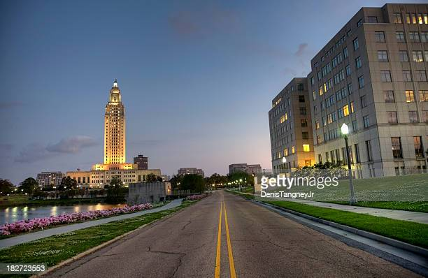 louisiana state capitol - baton rouge stock pictures, royalty-free photos & images