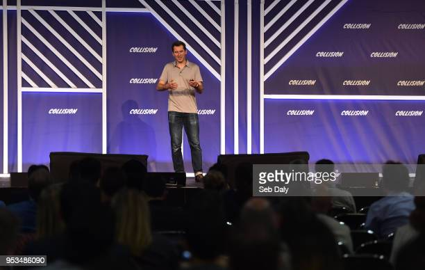 Louisiana , United States - 1 May 2018; Alex Smola, Global Director, Deep Learning Engineering AWS, Amazon, on the SaaS Monster stage during day one...
