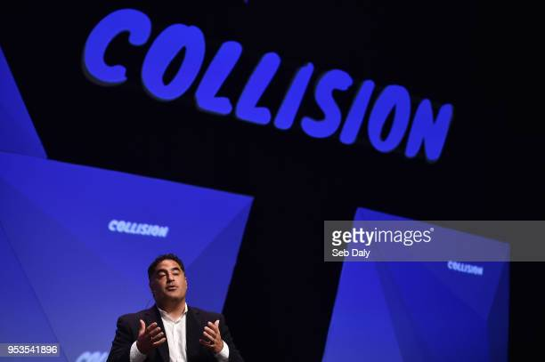 Louisiana United States 1 May 2018 Cenk Uygur The Young Turks on centre stage during day one of Collision 2018 at Ernest N Morial Convention Center...