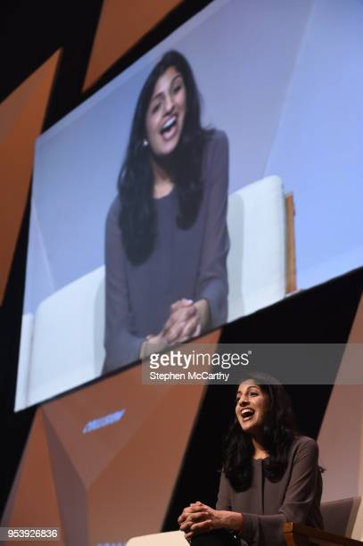 Louisiana United States 2 May 2018 Anjali Sud CEO Vimeo on centre stage during day two of Collision 2018 at Ernest N Morial Convention Center in New...