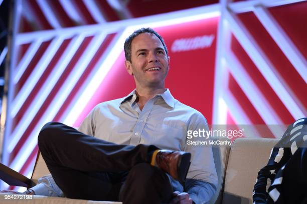 Louisiana United States 3 May 2018 Chris Barton Founder Shazam on the Startup Uni stage during day three of Collision 2018 at Ernest N Morial...