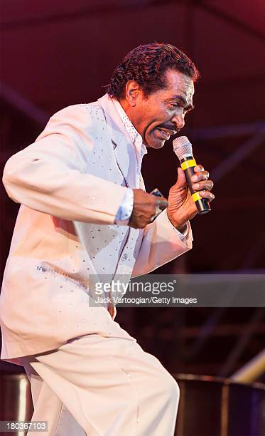 Louisiana-born Blues and R&B musician Bobby Rush performs at the 30th Annual Roots of American Music Festival on the closing night of Lincoln Center...