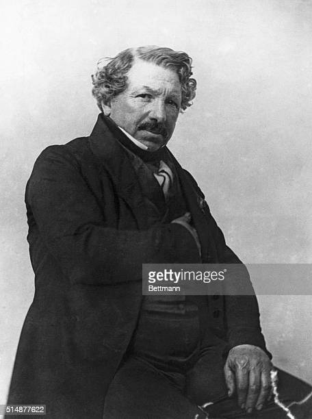 LouisJacques Daguerre perfected photography invented by Niepce Photo by Nadar