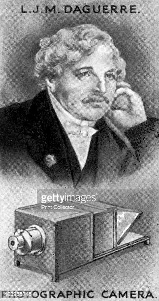 LouisJacquesMande Daguerre French artist and chemist Daguerre is recognized for his invention of the Daguerreotype process of photography