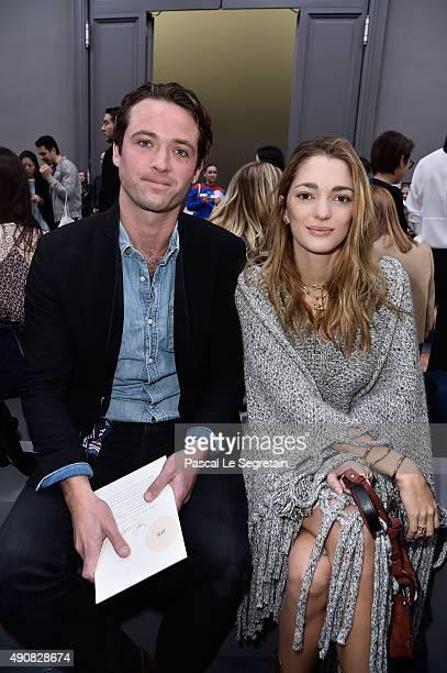 LouisMarie de Castelbajac and Sofia Sanchez de Betak attend the Chloe show as part of the Paris Fashion Week Womenswear Spring/Summer 2016 on October...