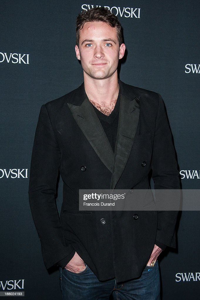Louis-Marie de Castelbajac attends the Swarovski Dinner In Honor of the Bouroullec Brothers at Chateau de Versailles on November 14, 2013 in Versailles, France.