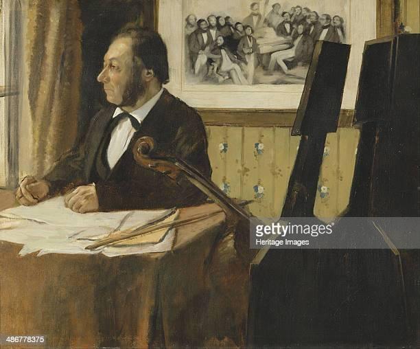LouisMarie Pilet Cellist in the Orchestra of the Paris Opera 18681869 Artist Degas Edgar