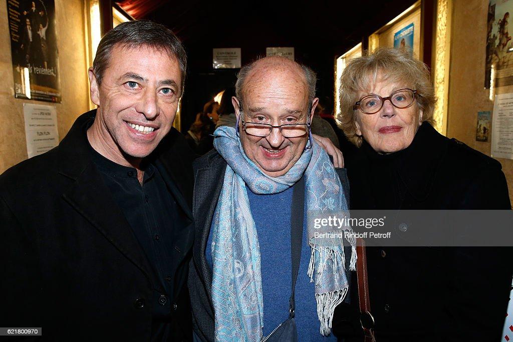 "Louis-Michel Colla, The Director Of The ""Theatre De La Gaite Montparnasse"", Celebrates his 60th Anniversary In Paris"