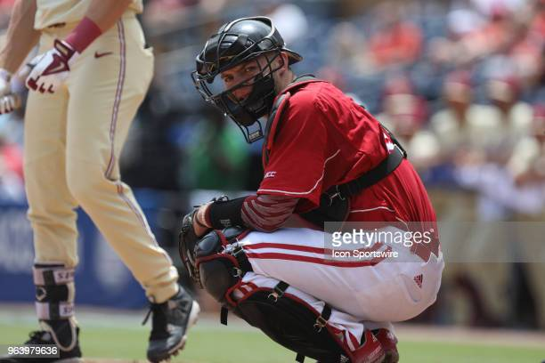 Louisville catcher Pat Rumoro during the ACC Baseball Championship game between the Florida State and the Louisville Cardinals on May 27 at Durham...