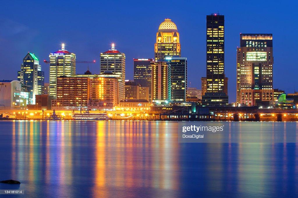 Louisville Cityscape / Skyline : Stock Photo