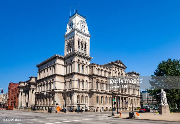louisville, kentucky, usa city hall - louisville kentucky stock pictures, royalty-free photos & images