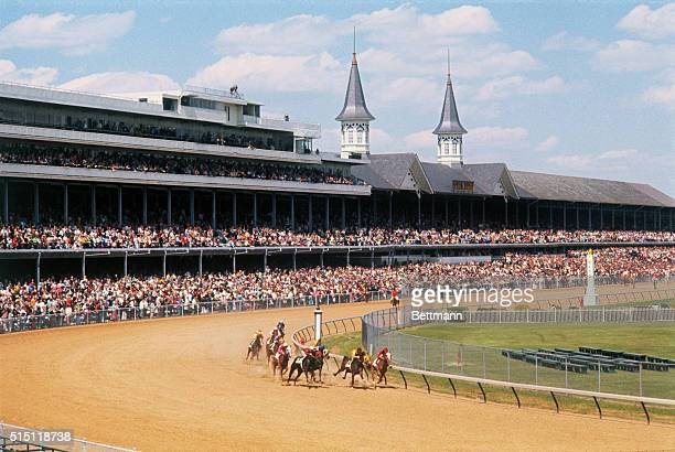 Louisville, KY: The twin spires atop the stands at Churchill Downs Race Track remind all the 99th running 5/5 of the Kentucky Derby is near. Fans and...