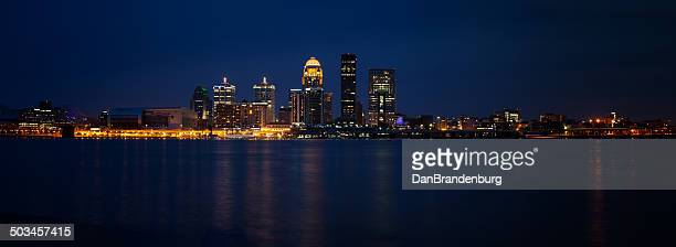 louisville skyline - louisville kentucky stock pictures, royalty-free photos & images