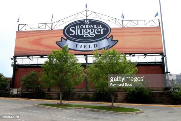 Louisville Slugger Field, home of the Louisville Bats baseball team on May 30, 2014 in Louisville, Kentucky.