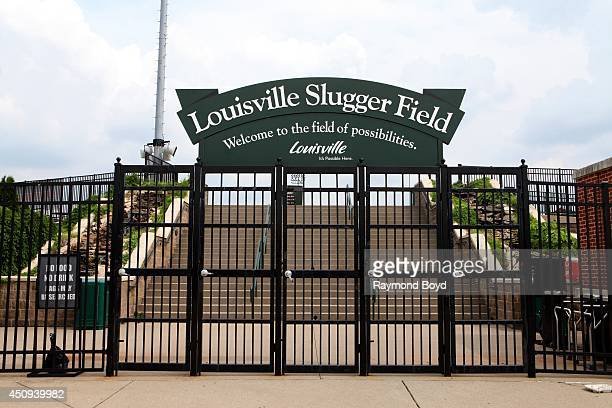 Louisville Slugger Field, home of the Louisville Bats baseball team on May 30, 2014 in Louisville, Kentucky.