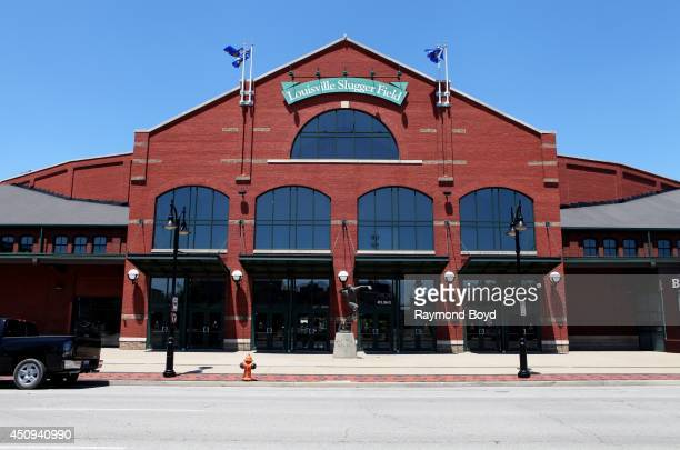 Louisville Slugger Field, home of the Louisville Bats baseball team on May 31, 2014 in Louisville, Kentucky.