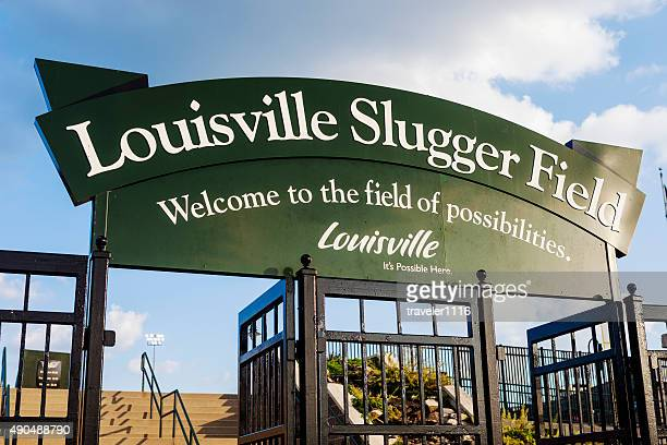 louisville slugger field - louisville kentucky stock pictures, royalty-free photos & images