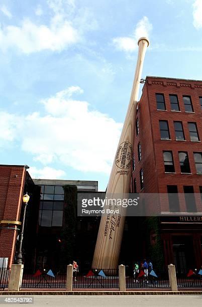 Louisville Slugger Museum and Factory on July 16 2015 in Louisville Kentucky