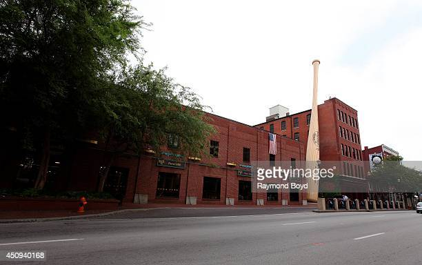 Louisville Slugger Museum and Factory on May 30 2014 in Louisville Kentucky