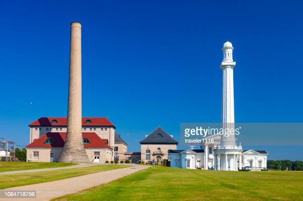 louisville water tower park in louisville, kentucky - louisville kentucky stock pictures, royalty-free photos & images