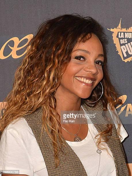 Louisy Joseph attends the '35th Nuit des Publivores' at Grand Rex September 17 2015 in Paris France