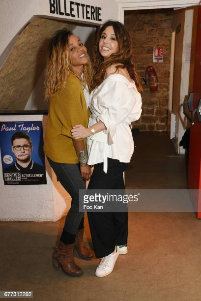 Louisy Joseph from L5 band and Chanez attend 'Attachiante' Chanez Concert and Birthday Party at Sentier des Halles Club on May 2 2017 in Paris France