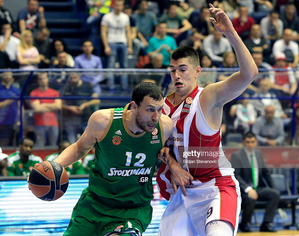 Crvena Zvezda Telekom Belgrade v Panathinaikos Athens - Turkish Airlines Euroleague Top 16 : ニュース写真