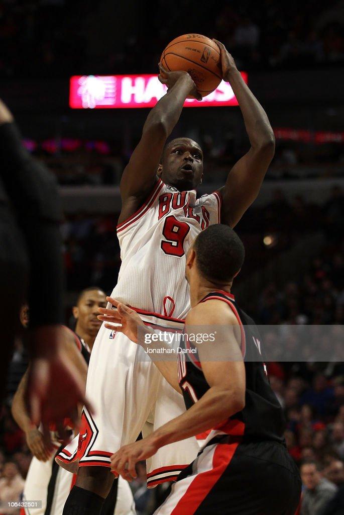 Portland Trail Blazers v Chicago Bulls