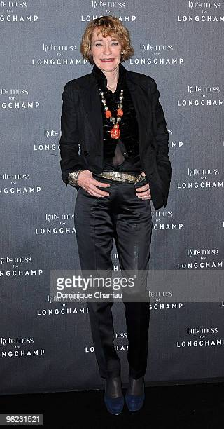 Loulou De La Falaise attends the Kate Moss for Longchamp Collection Launch Coktail Party at Ritz Club on January 27 2010 in Paris France