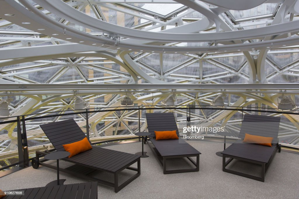 WA: Inside Amazon's Giant Spheres, Where Workers Will Chill In A Mini Rainforest