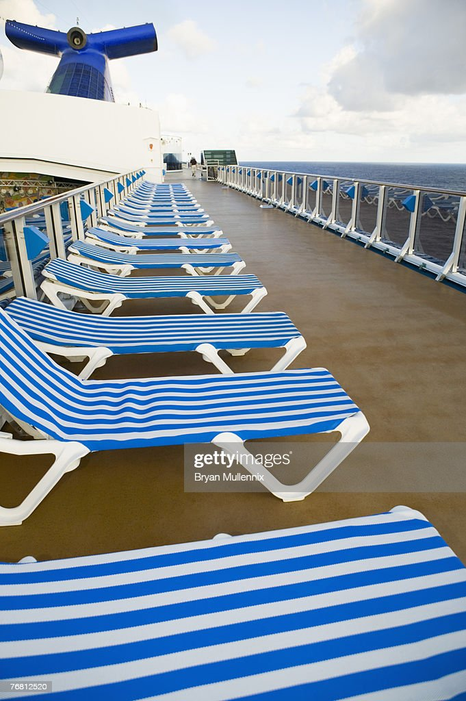 Strange Lounge Chairs On Deck Of Cruise Ship High Res Stock Photo Creativecarmelina Interior Chair Design Creativecarmelinacom