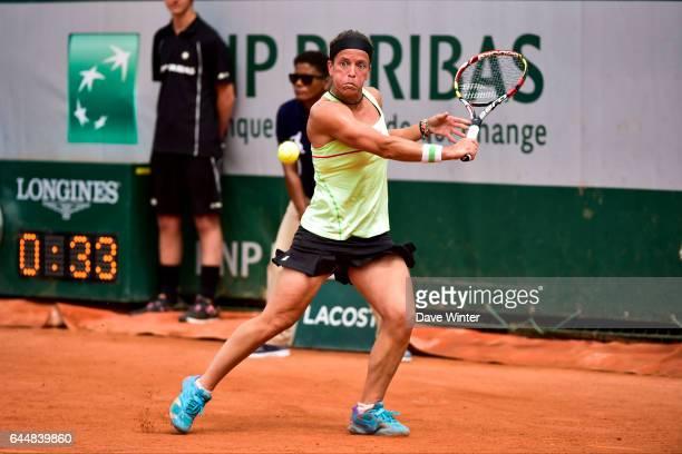 Lourdes DOMINGUEZ LINO - - Jour 5 - Roland Garros 2015, Photo : Dave Winter / Icon Sport