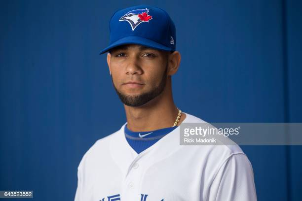 Lourdes Gurriel Toronto Blue Jays start the day early with Photo Day at Florida Auto Exchange Stadium Toronto Star/Rick Madonik