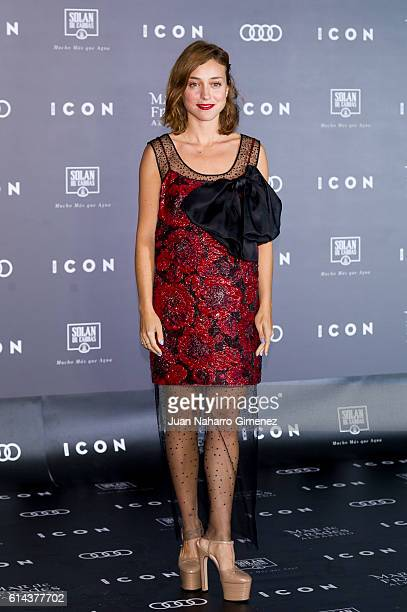 Lourdes Hernandez attends 'ICON' awards at the French ambassador's residence on October 13 2016 in Madrid Spain